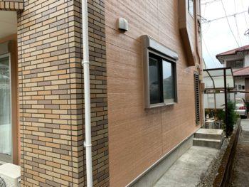 徳島県 名東町 施工後 外壁 サイディング