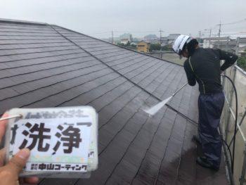 徳島県 上板町 洗浄 屋根 汚れ