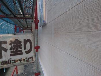 徳島県 名東町 外壁 塗装後 下塗り
