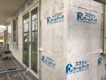 徳島県 上板町 板金工事 胴縁 撤去