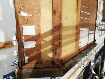徳島県 末広町 外壁 板金工事 出窓 劣化