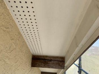 徳島県 丈六町 施工前 付帯部 軒天井
