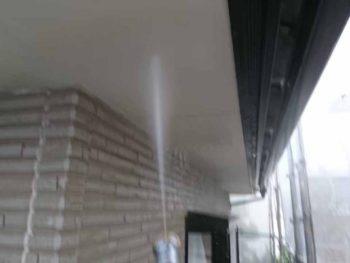 徳島県 八万 高圧洗浄 軒天井