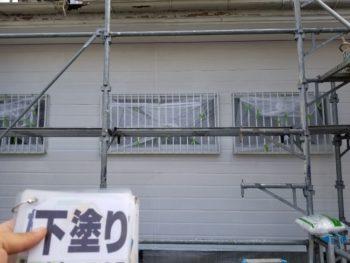 徳島県 板野郡 外壁塗装後 下塗り