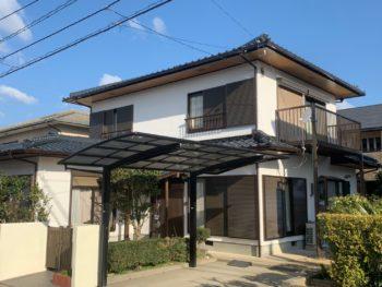 徳島市国府町 外壁屋根塗替え 施工例M様