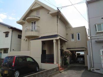 徳島市 屋根アスファルトシングル葺き替え・外壁マット塗装