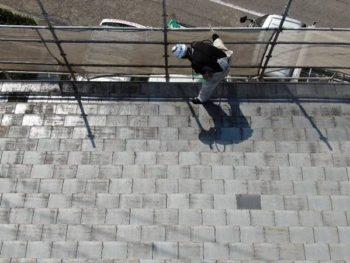 徳島県 川内町 洗浄 屋根 汚れ