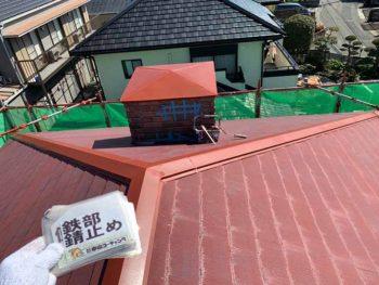 徳島県 大麻町 屋根 塗装 錆止め