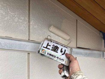 徳島県 羽ノ浦町 外壁塗装 上塗り 塗装後
