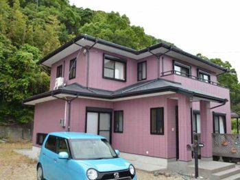 徳島県 撫養町 施工後 正面 全体