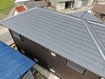 兵庫県 南あわじ市 施工後 屋根 ダイナミックルーフ