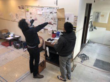 徳島県 徳島市 銀座 店舗塗装 施工前 内装