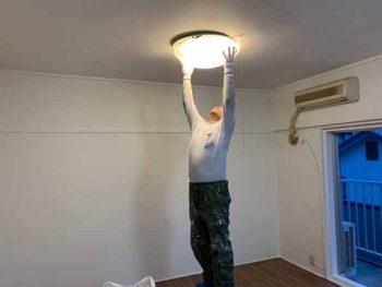 徳島県 マンション 室内塗装 ライト 復旧