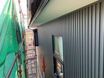 兵庫県 南あわじ市 板金工事 ガルバリウム鋼板