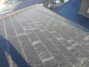 徳島県 川内町 施工前 屋根 劣化 色あせ
