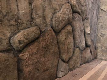 徳島県 徳島市 銀座 施工後 石垣 内壁