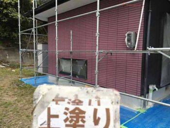 徳島県 撫養町 外壁塗装 上塗り 塗装後