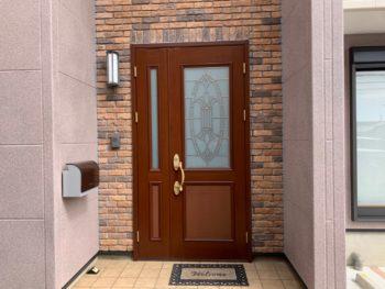 徳島県 小松島市 施工後 玄関