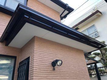 徳島県 八万 施工後 軒天井