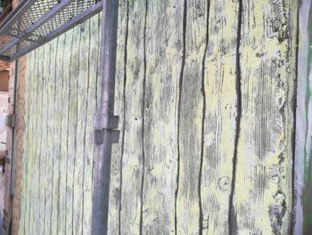 徳島県 徳島市 銀座 壁面塗装 外壁 パテ処理