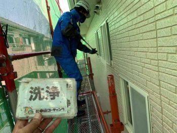 徳島県 大麻町 高圧洗浄 外壁 目地