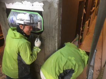 徳島県 徳島市 銀座 モルタル造形 看板