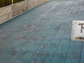 徳島県 大麻町 屋根塗装 下塗り後