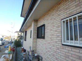 徳島県 川内町 施工前 外壁 目地