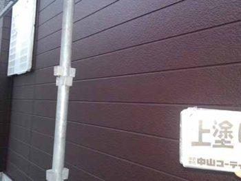 徳島県 大麻町 外壁塗装 上塗り後