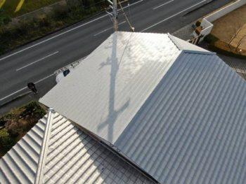 徳島県 川内町 施工後 屋根