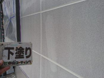 徳島県 小松島市 外壁 塗装 下塗り