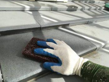 徳島県 藍住町 屋根 塗装 ケレン