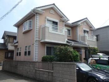 徳島県 藍住町 施工前 側面 全体