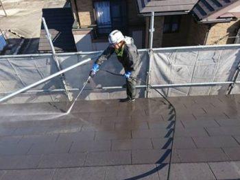 徳島県 藍住町 高圧洗浄 屋根