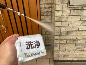 徳島県 北田宮 高圧洗浄 外壁