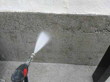 徳島県 八万 高圧洗浄 塀