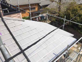 徳島県 撫養町 屋根塗装 下塗り