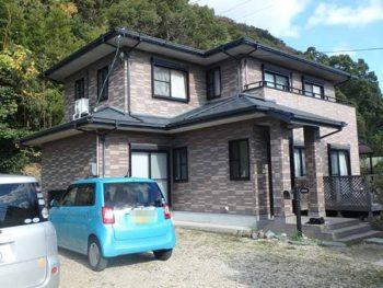 徳島県 撫養町 施工前 正面 全体