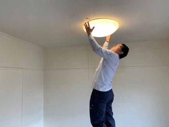 徳島県 マンション 室内塗装 ライト 撤去