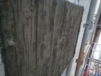 徳島県 徳島市 銀座 モルタル造形 板 施工後