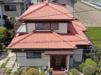 小松島市間新田町 外壁屋根塗装 ハイクラスシリコン使用