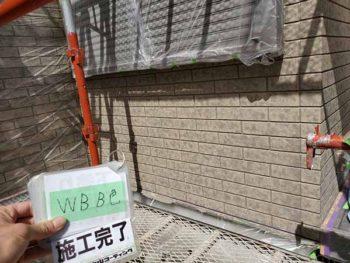 徳島県 北田宮 外壁 塗装後 ベランダ B色