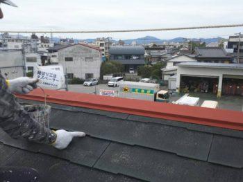 徳島県 城東町 病院 屋根 塗装 タスペーサー