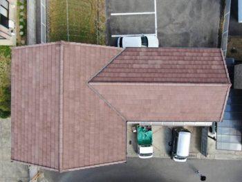徳島県 北田宮 施工後 屋根