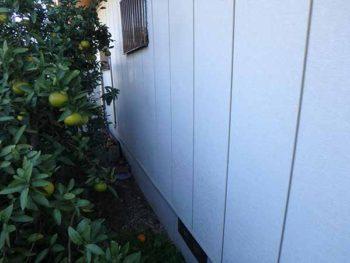 徳島県 羽ノ浦町 施工前 外壁 チョーキング