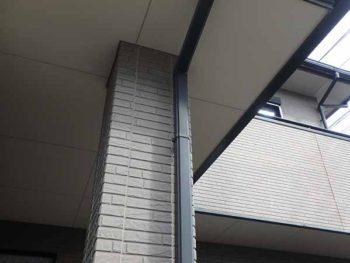 徳島県 徳島市 安宅 施工前 軒天井