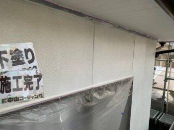 徳島県 板野郡 北島町 外壁 塗装後 下塗り