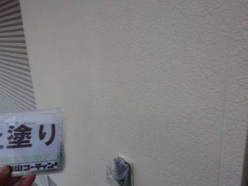 徳島県 川内町 外壁 塗装後 上塗り