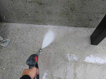 徳島県 八万 高圧洗浄 土間