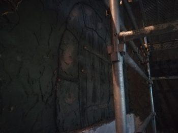 徳島県 徳島市 銀座 モルタル造形 入口 扉